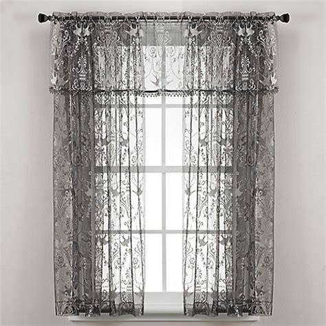 lace curtains bed bath and beyond downton abbey 174 duchess collection lace window curtain