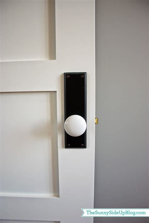 Black Door Knobs On White Doors by Mudroom Q A The Side Up