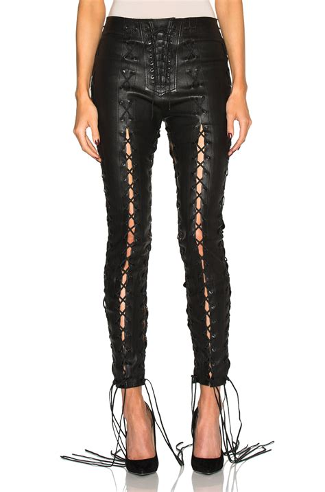 Lace Up Leather lace up leather the else