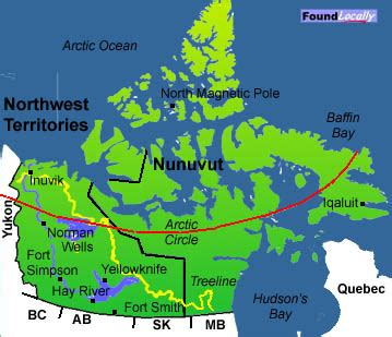 map of the northwest territories in canada northwest territories map moving in canada