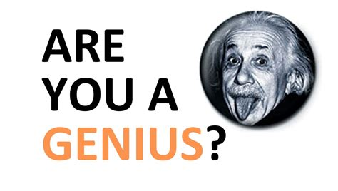 How To Be A Genius Your Brain And How To It brain test are you a genius how many f s test with answers