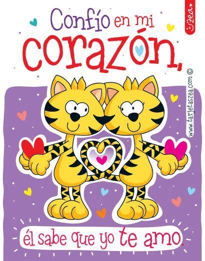 imagenes amistad zea te amo con el coraz 243 n gatos enamorados 169 zea www