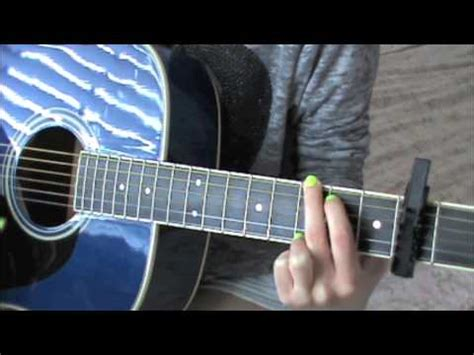 tutorial guitar everything i do easy guitar tutorial for everything has changed by taylor