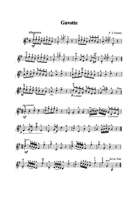 Gavotte Violin Suzuki Book 1 Suzuki Violin Method Kнига 1