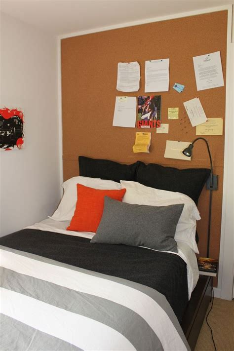 cork board headboard 25 best teen headboard ideas on pinterest