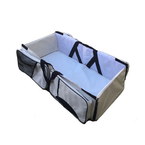 portable changing table bag 3 in 1 multi purpose bag travel bassinet
