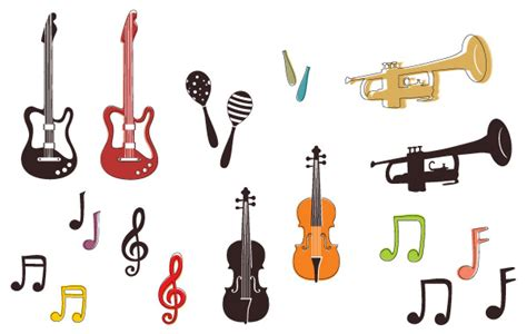 Home Decoration Software Free Download by Musical Instruments And Notes Clip Arts Free Clipart
