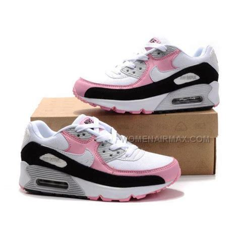 nike air max  womens shoes wholesale black white pink
