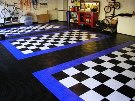 What Colors Make A Room Look Bigger And Brighter by Interlocking Garage Floor Tiles Mycarroom