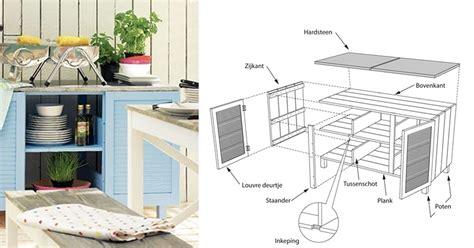 Zelf Keuken Maken Hout by Een Buitenkeuken Maken Hout Dat Doe Je Zo