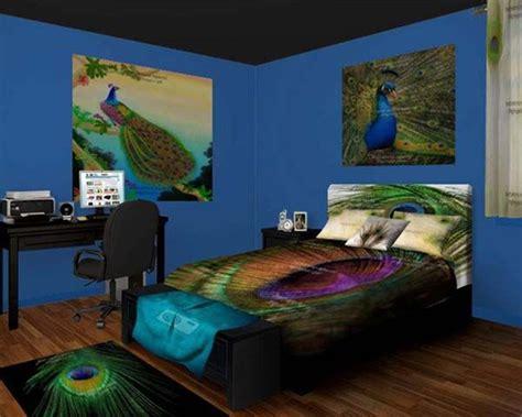 peacock bedroom peacock bedroom decor   extravagant feelings bedroom pinterest