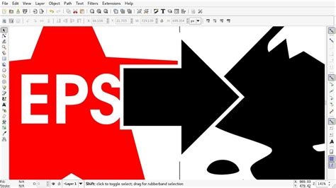 eps format is how to import eps file in inkscape youtube