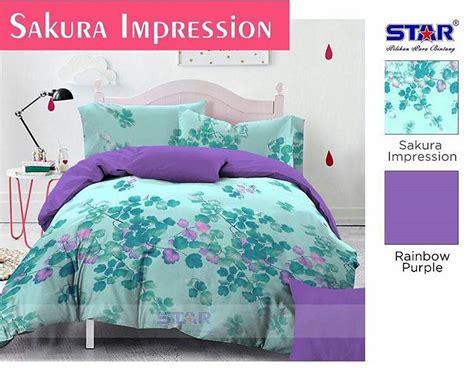 Sprei Impression Nirvana Uk 120 detail produk sprei dan bedcover impression purple
