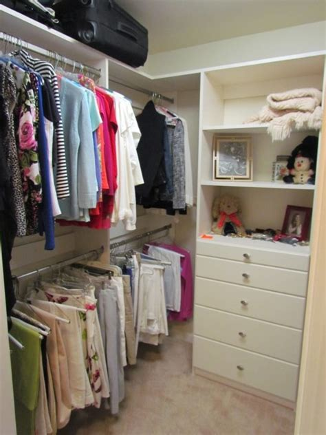 Tiny Walk In Closet by Small Walk In Closets Atlanta Closet