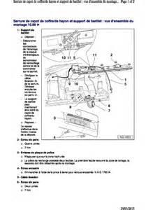 demontage serrure coffre passat volkswagen m 233 canique