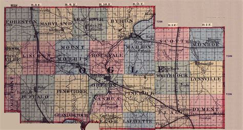 Illinois Net Name Search Ogle County Illinois Maps And Gazetteers
