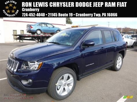jeep compass 2017 grey 2017 jeep compass latitude 4x4 in true blue pearl 140112