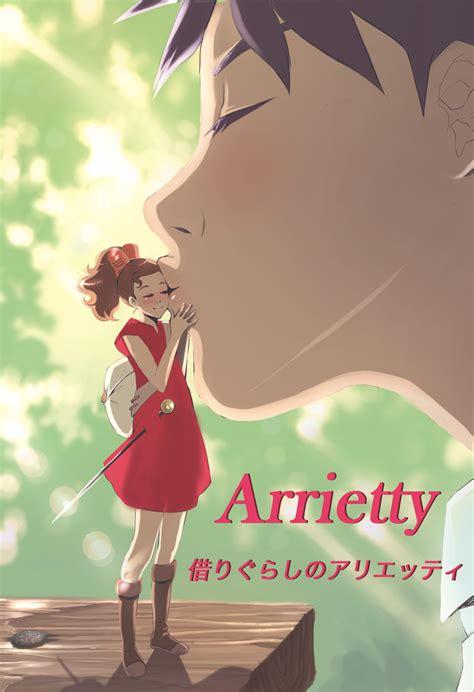 studio ghibli film arrietty karigurashi no arrietty mobile wallpaper zerochan