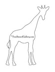 Giraffe Printable Template by Giraffe Stencil Www Pixshark Images Galleries With