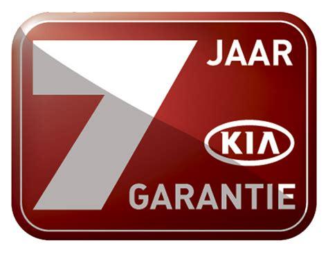 Garantie Kia 7 Jaar Garantie Enkel Bij Kia