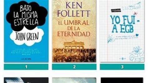 libro lo ms de la los 50 libros m 225 s vendidos en espa 241 a