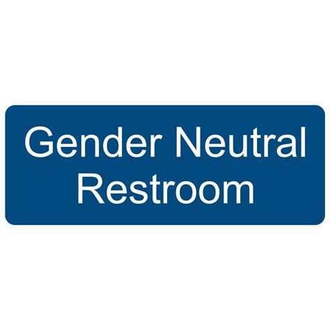 gender neutral bathroom gender neutral restroom sign egre 25515 whtonblu gender