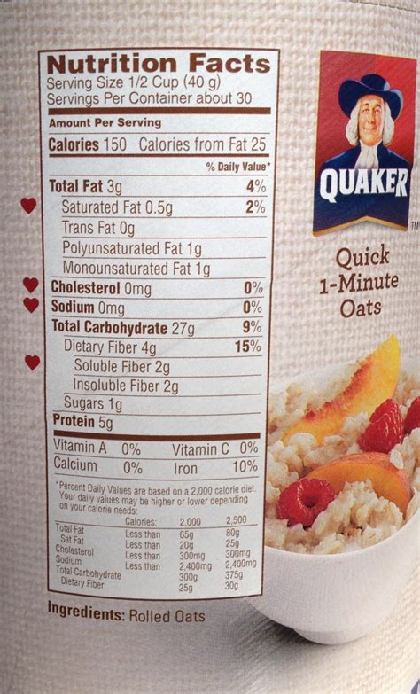 Combywide Cereal With Oat 600g quaker oats nutrition facts besto