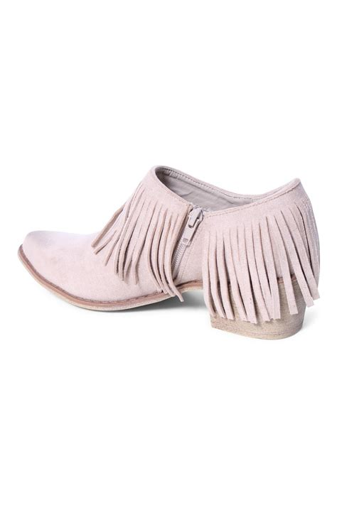 fringe shoes coconuts by matisse fringe shoe bootie from california by