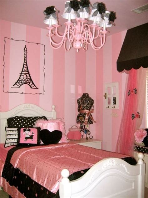 room girl how to create a charming girl s room in paris style