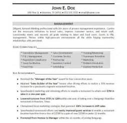 Sample Resume Manager professionally written manager resume example resumebaking