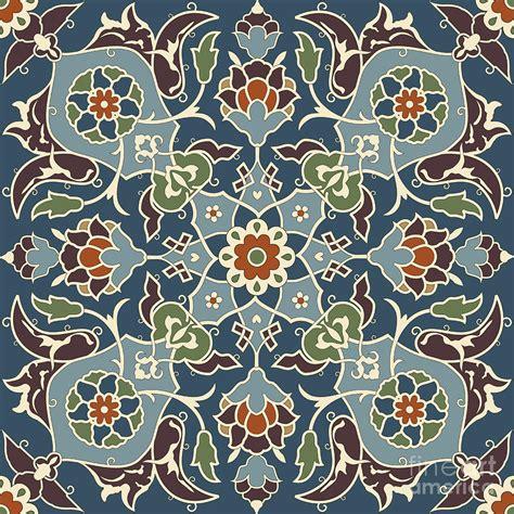 seamless pattern artist arabesque seamless pattern 03 digital art by pablo romero