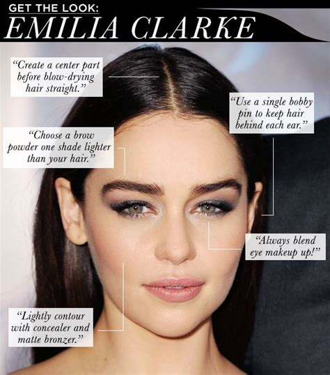 Get The Look Haydens Gorgeous Skin by Get The Look Emilia Clarke Emilia Clarke Get The Look