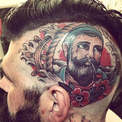 tattoo cartoon face face tattoos picture bgcu