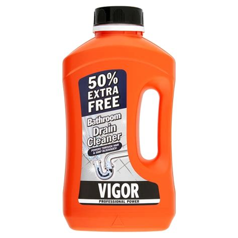 bathroom drain cleaner vigor bathroom drain cleaner 50 extra free