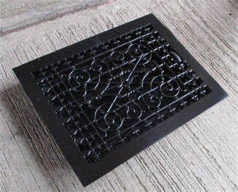 black iron floor l antique wrought iron grates