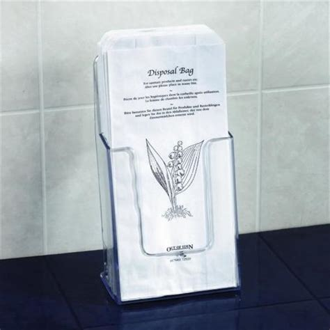 Sanitary Bag by Paper Sanitary Bags And Holder Hygiene Supplies Out Of
