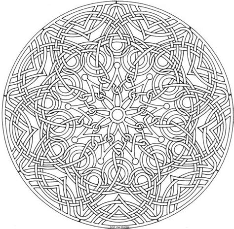 advanced mandala coloring pages printable mandala coloring pages advanced level img 72574