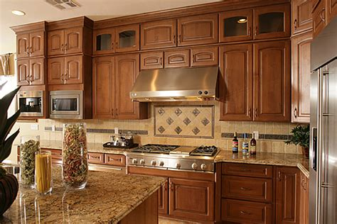 simple kitchen backsplash ideas for oak cabinets 94 on