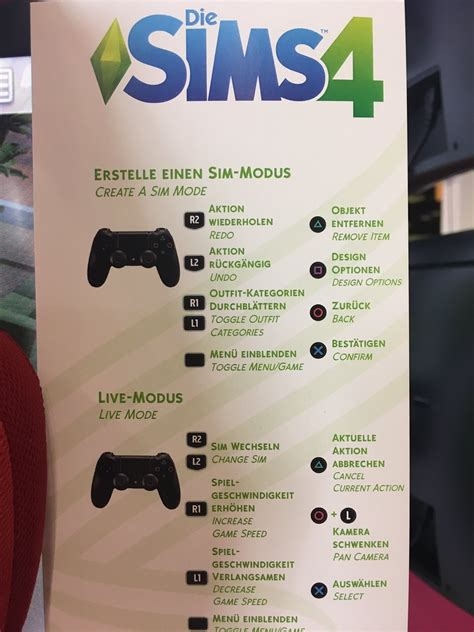 the sims 4 console the sims 4 on console playstation4 controls simsvip