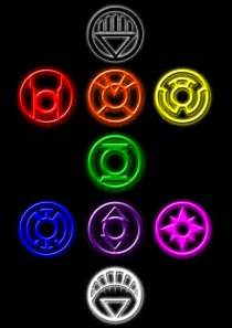 green lantern ring colors lantern corps brush set by rockdeadman on deviantart