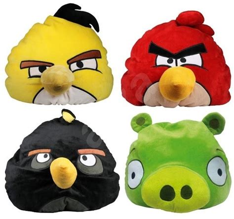 Angry Bird Pillow Pet by Relaxing Pillow Angry Birds Yellow Egg Beater Plush