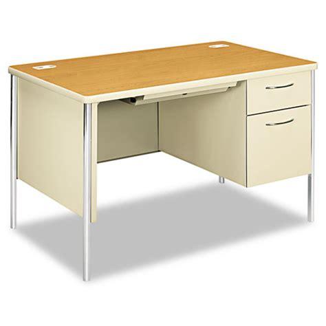 mentor office furniture hon88251rcl hon mentor series single pedestal desk zuma