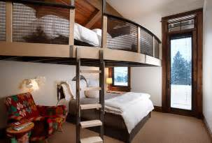 Bunk beds in the small size living era inmyinterior