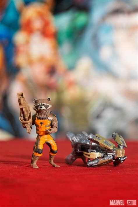 Marvel Legends Guardian Of The Galaxy Series Rocket Mini Groot new size captain america statue and guardians of the galaxy pics the toyark news