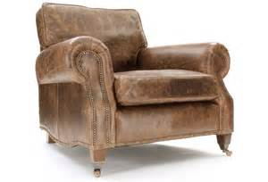 Leather Armchair Hepburn Vintage Leather Armchair From Boot Sofas