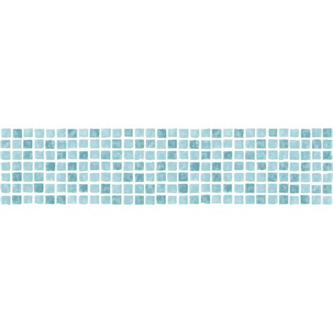 Teal Gray And Yellow Bedroom - fine decor ceramica mosaic tile self adhesive border aqua teal white fine decor from i