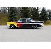 1957 CHEVROLET BEL AIR CUSTOM 2 DOOR COUPE  117300