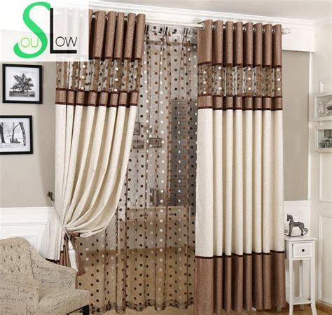 linen luxury curtains slow soul brown gray european luxury curtains bird nest