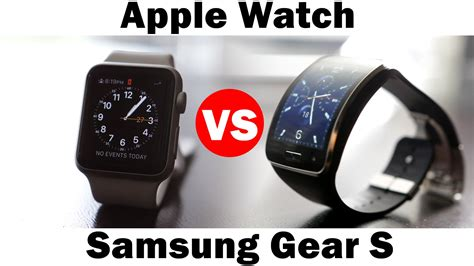 Samsung Gear S Smartwatch Comparison Apple Vs Samsung Gear S Smartwatch Comparison Doovi