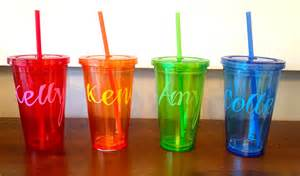 Favor Cups With Straws by Custom Drink Tumblers The Diy Favors For